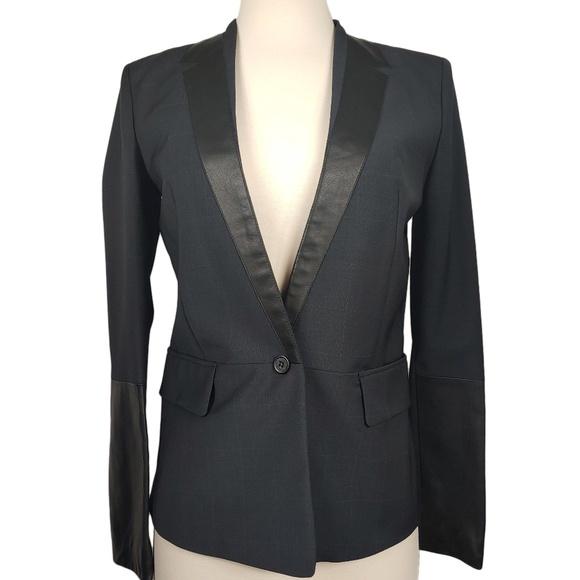 Maje Jackets & Blazers - Maje Women's Blazer In Steel Grey